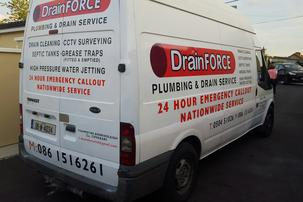 DrainForce drain cleaning srvice